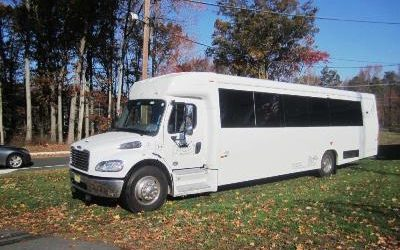 CT Party Bus 35-37 passenger,NY,NJ,PA Limo Bus,BIRTHDAY PARTYRIDE