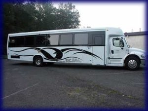 Mercedes 40 Pass nj limo bus NJ,NY,PA,CT Bus Service