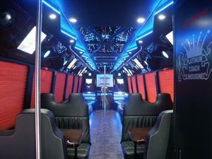 35 Pass Mercedes Limo Bus NY,NJ,PA,CT Limo Bus