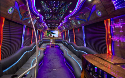 35 Passenger Mercedes Limo Party  Bus PA,NY,NJ,CT Limo Bus
