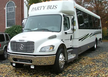 30 Passengers Party Bus in New York, 28-30 Pass Limo Bus NY,NJ,PA,CT