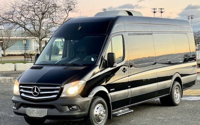 New Jersey Mercedes Van Sprinter 8-16 Pass Executive with Restroom,Service NY.NJ.PA